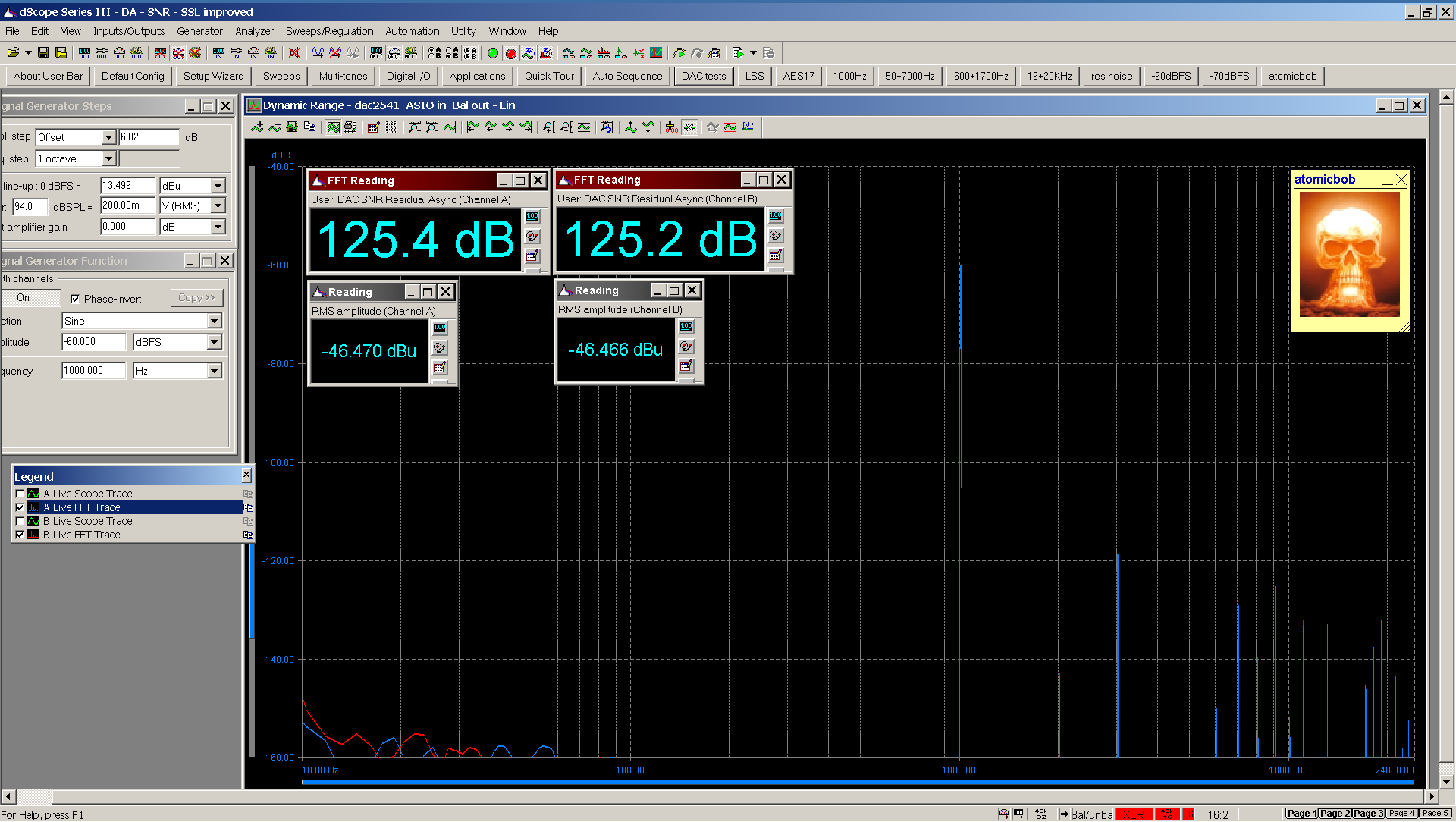 01 20210125 dac2541 dynamic range FFT ASIO Bal.png