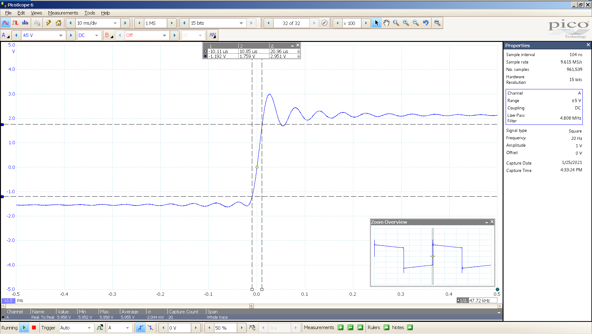 02 20210125 dac2541 20 Hz square 3682mVpp 100uS div 5MHz filter AES SE Mix BW calc.png