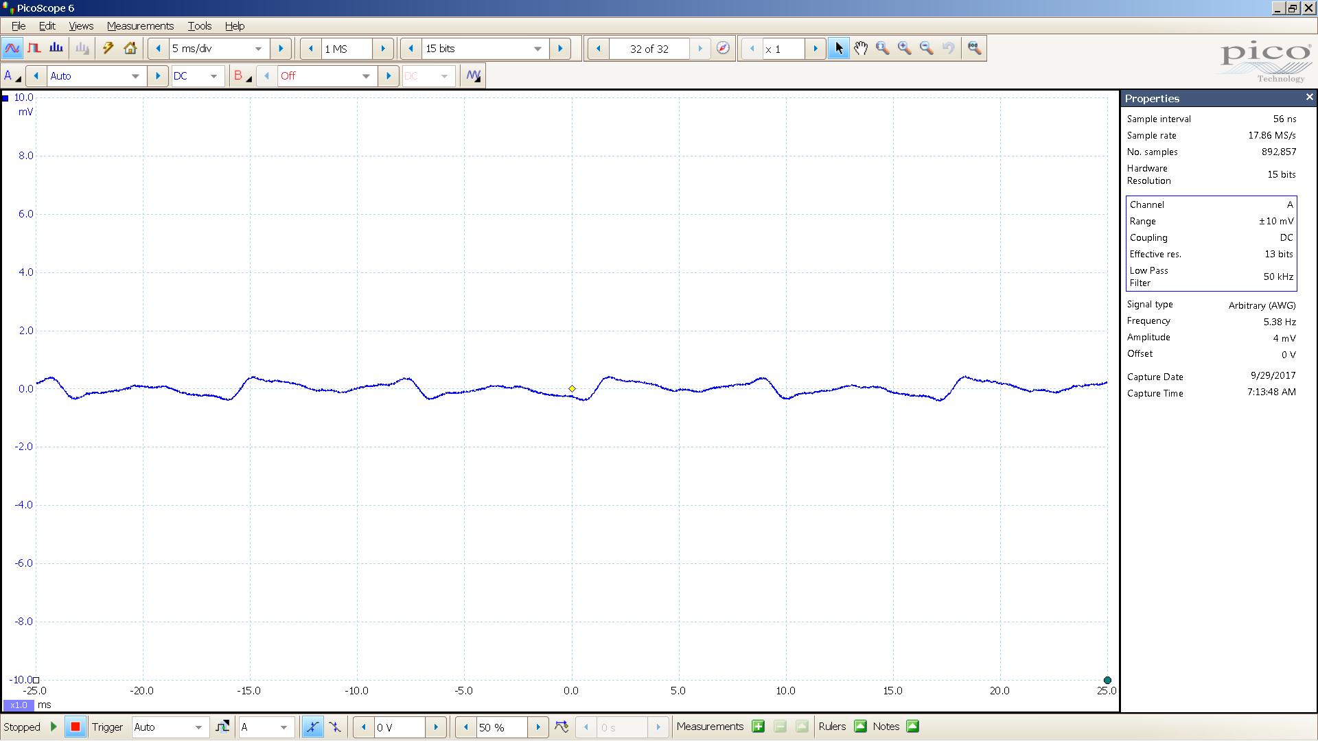 02 60 Hz + harmonics 800 uVpp - 2 mV 5mS div.png