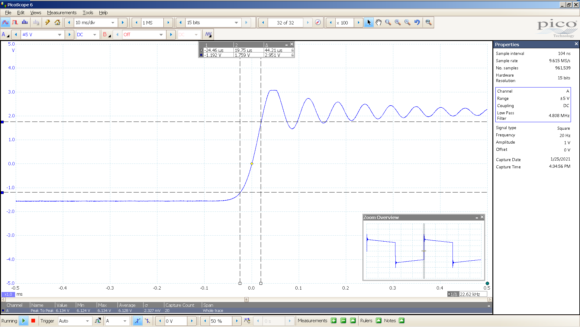 03 20210125 dac2541 20 Hz square 3682mVpp 100uS div 5MHz filter AES SE Min BW calc.png
