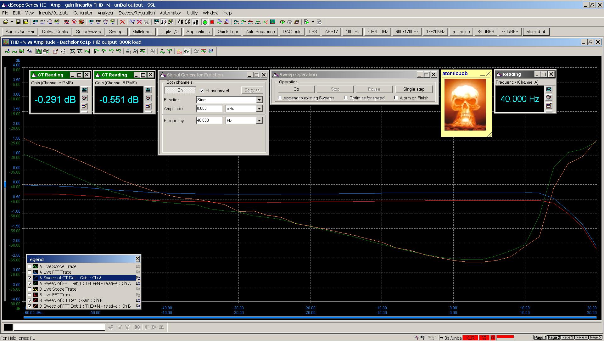 04 20200622 Bachelor 6z1p 40Hz gain linearity THD+N sweep 300R HiZ 0dB gain.png