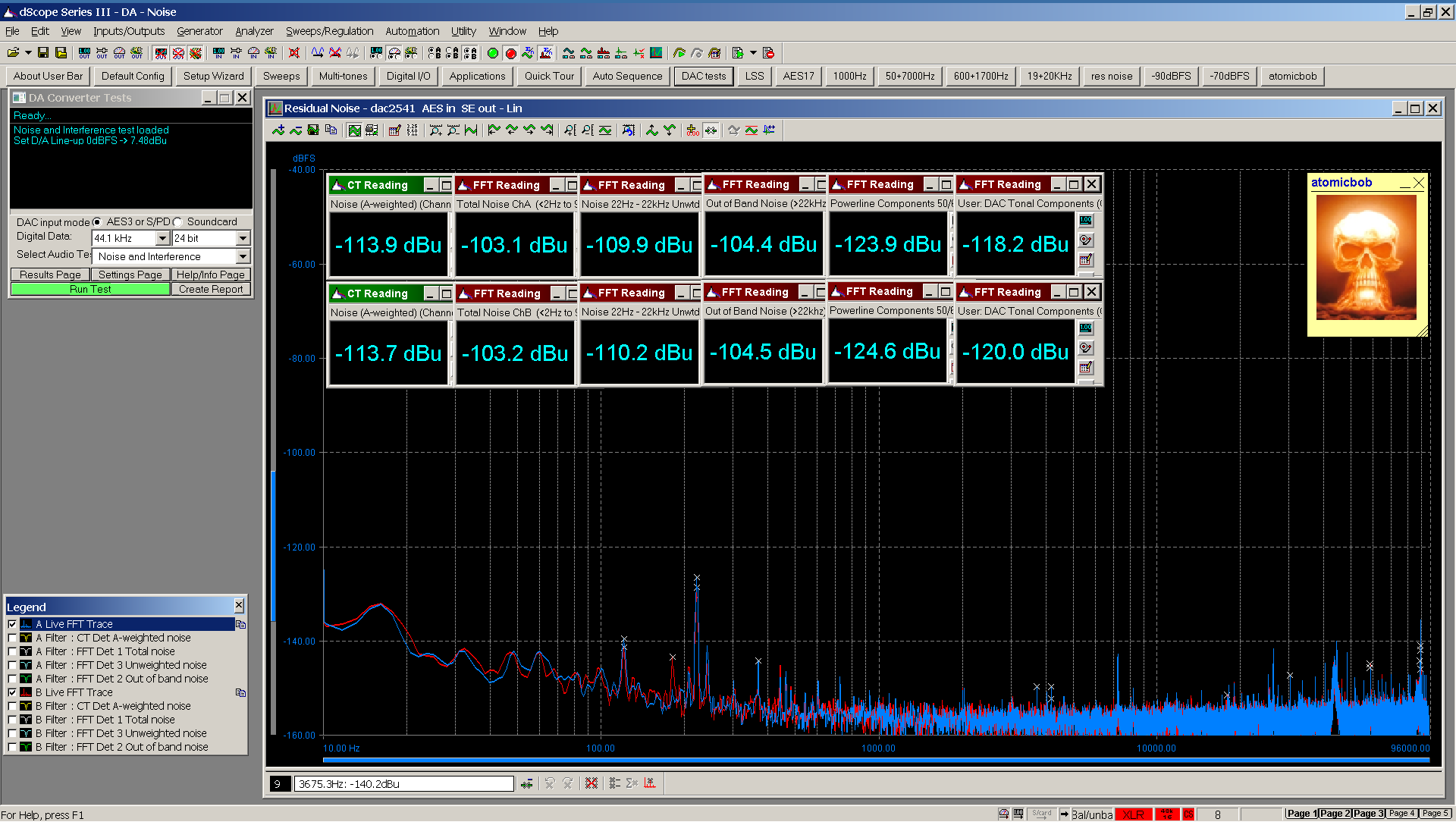 06 20210124 dac2541 residual noise FFT AES SE - 160 dB range.png
