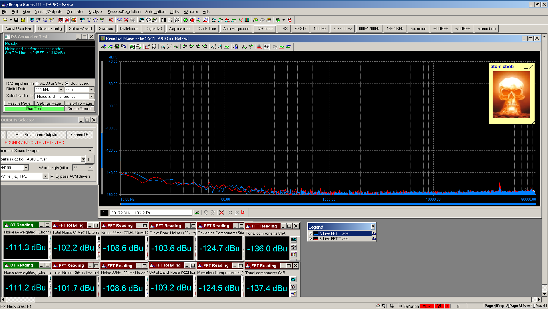 07 20210125 dac2541 residual noise Bal FFT ASIO Bal - 160 dB range.png