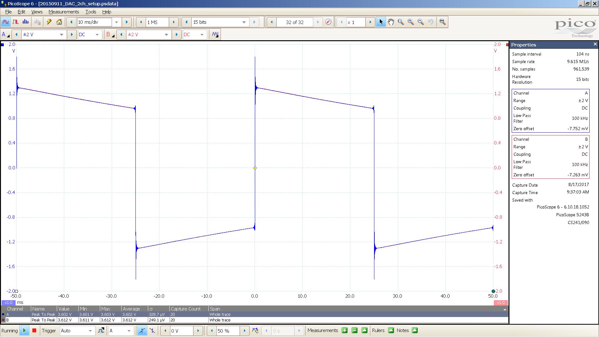 11 Bal HP 20 Hz sqr A=-22 0 dBu 10mS div 30R Mix WDM.PNG