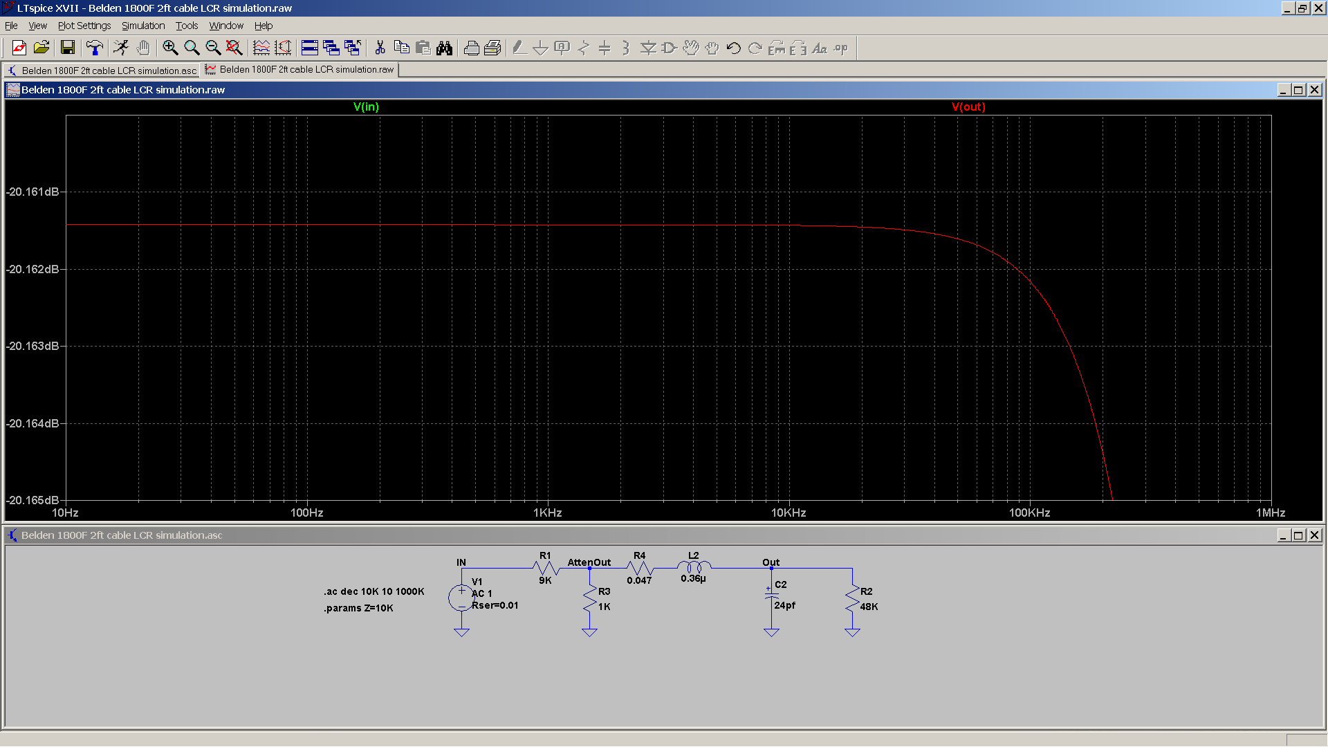 15 20190106 SA2X Belden 1800F 2ft Liquid Platinum load - 20 dB attenuation - zoom.png