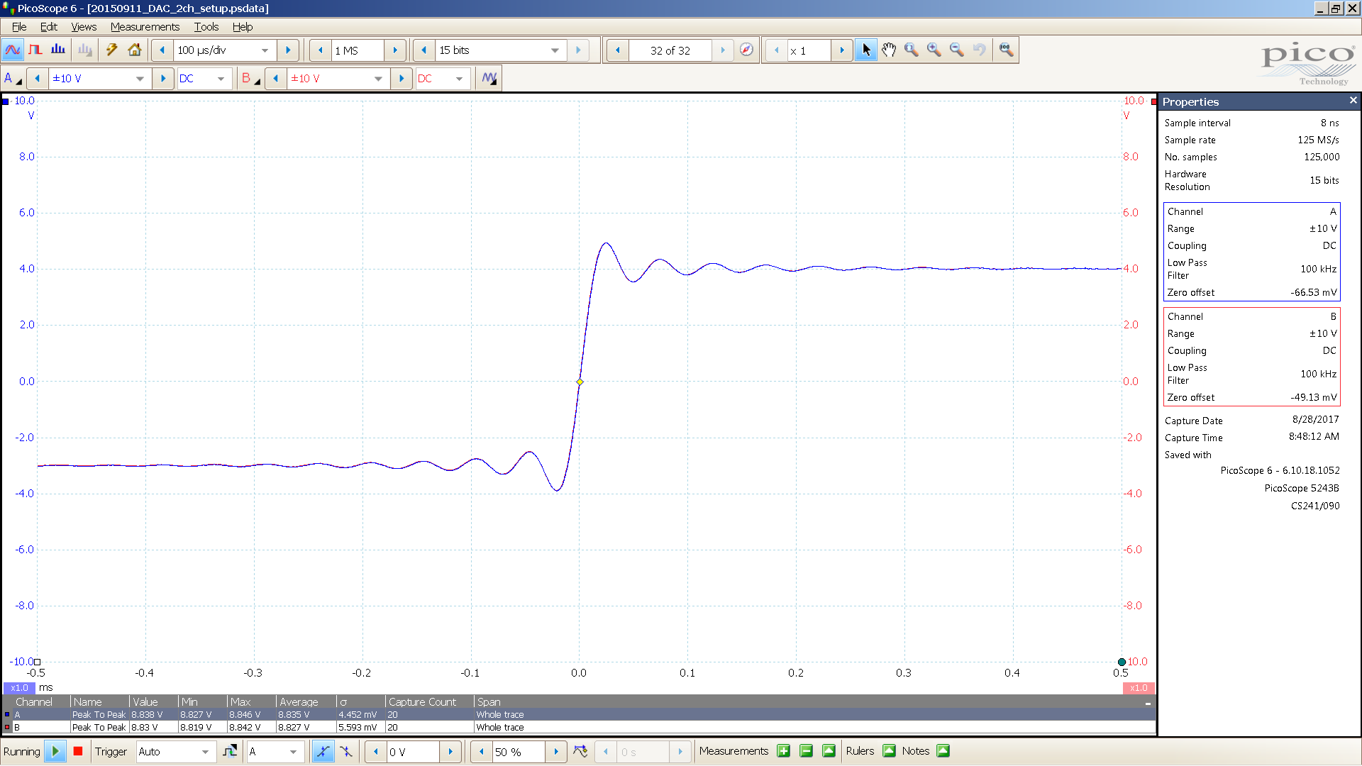 20170814-23 dac1541 Bal 20 Hz sqr -3 dBFS 8 Vpp 100uS div - spdif.PNG