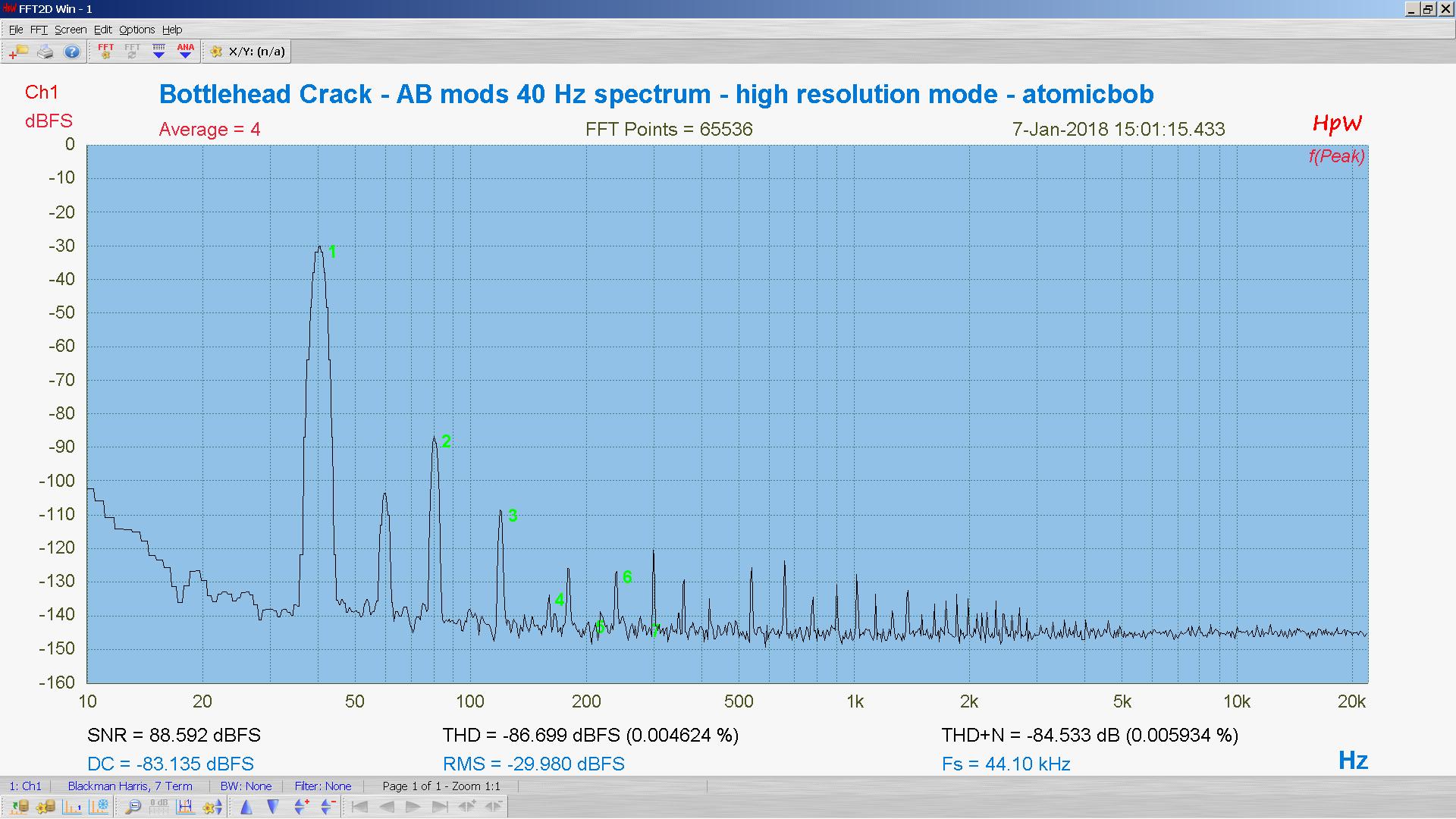 20180107-22 BH Crack e80cc 5998 40 Hz THD THD+N 65K FFT- ASIO -30 dBFS - HpW.PNG