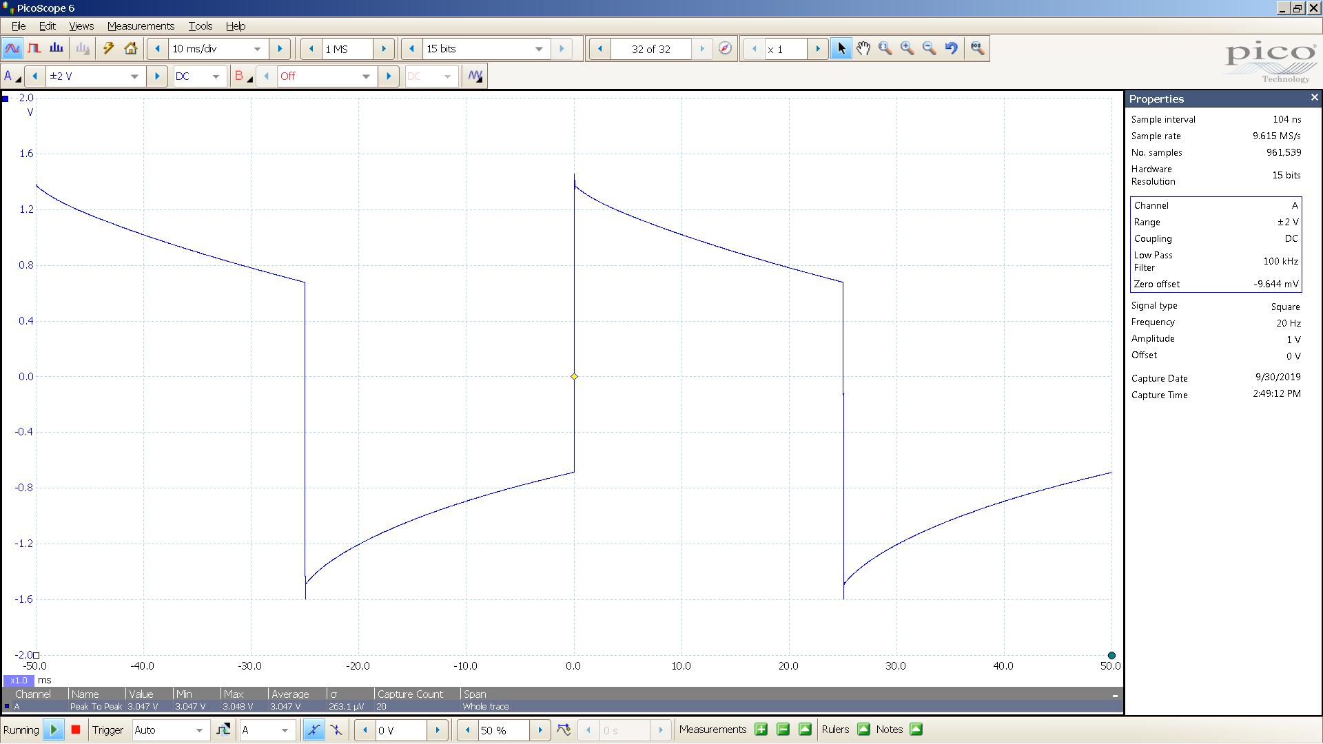20190930 SigGen SW51+ 6Z51P 20 Hz square 2000mVpp 10mS div 100KHz filter 30R LoZ.png