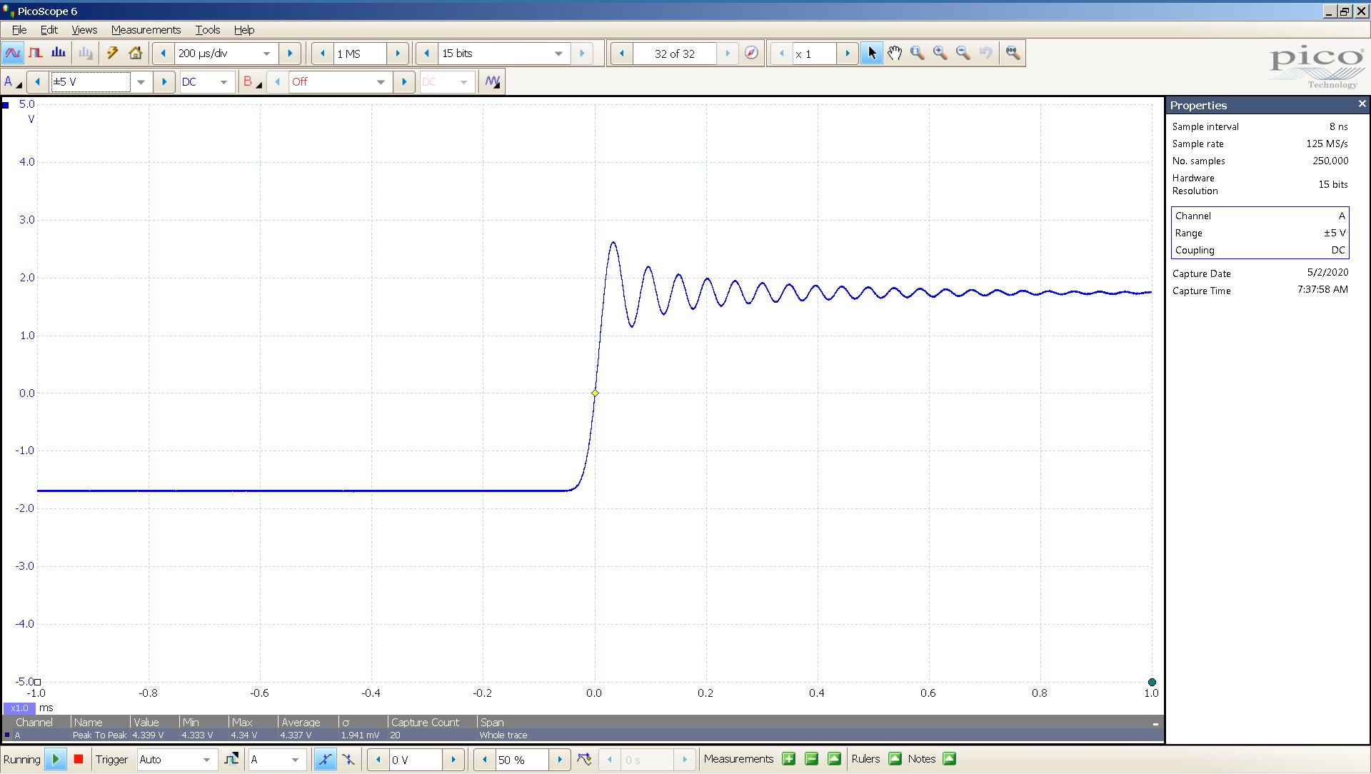 20200502-07 KTE Spring2 20 Hz sqr -4 dBFS 4 Vpp 200uS div SE - ASIO - OS PCM.png