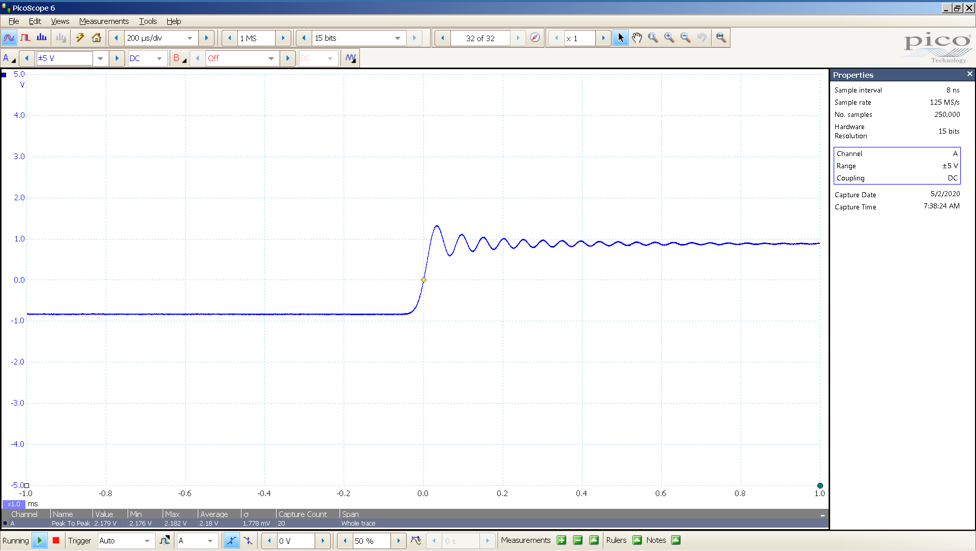 20200502-08 KTE Spring2 20 Hz sqr -4 dBFS 2 Vpp 200uS div SE - ASIO - OS DSD.png