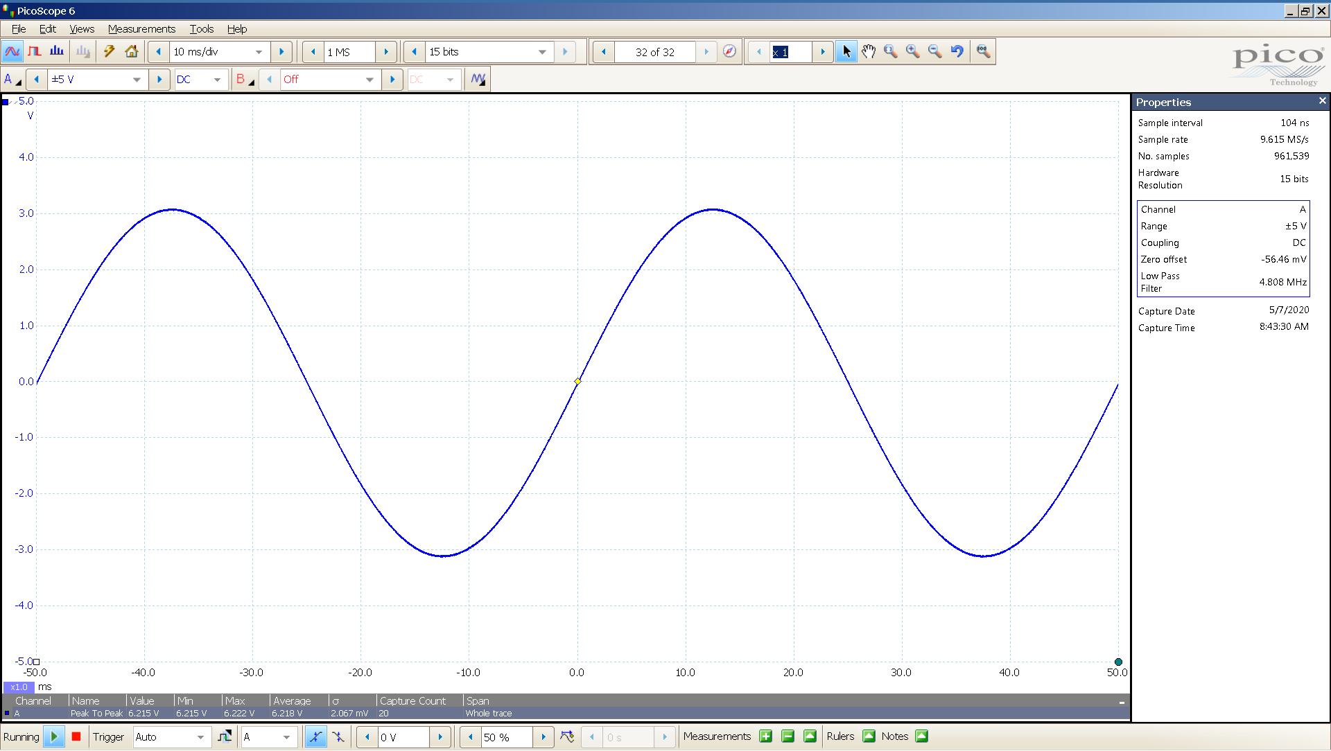 20200506-04 Khadas 20 Hz sin 0 dBFS 6 Vpp 10mS div SE - USB.png