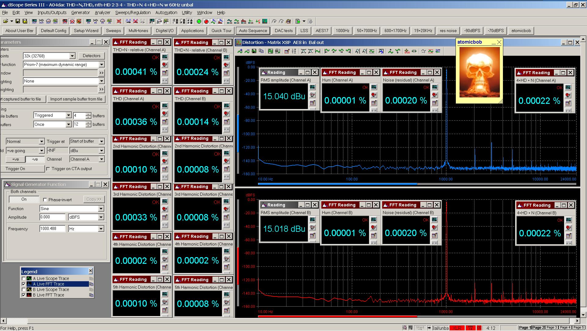 20200508 Matrix XSP A04 THD+N THD nth-HD 4+HD+N 60Hz FFT 0dBFS - AES Bal.png