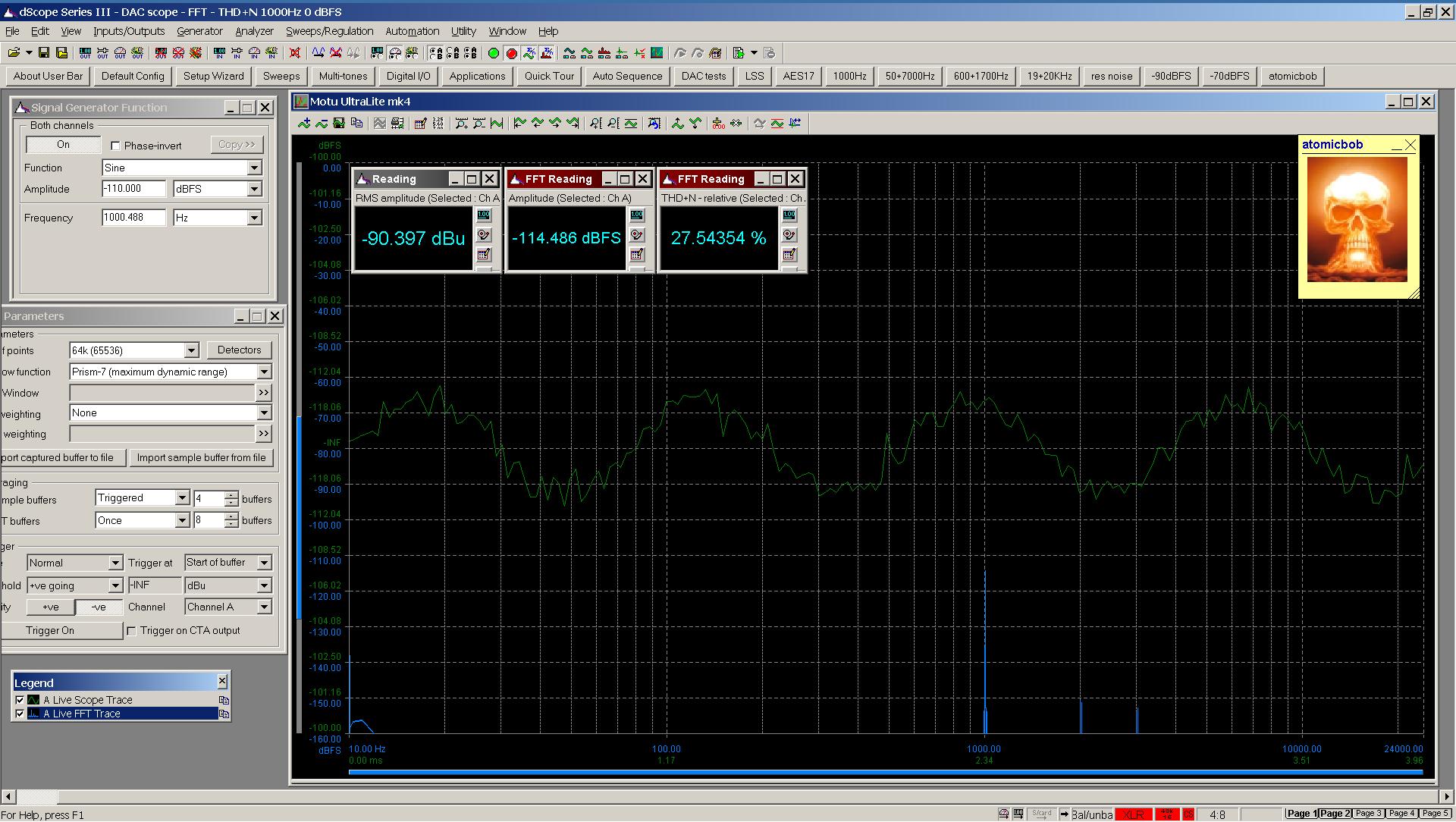 20200531-08 UltraLite-mk4 THD+N FFT -110 dBFS - spdif Bal.png