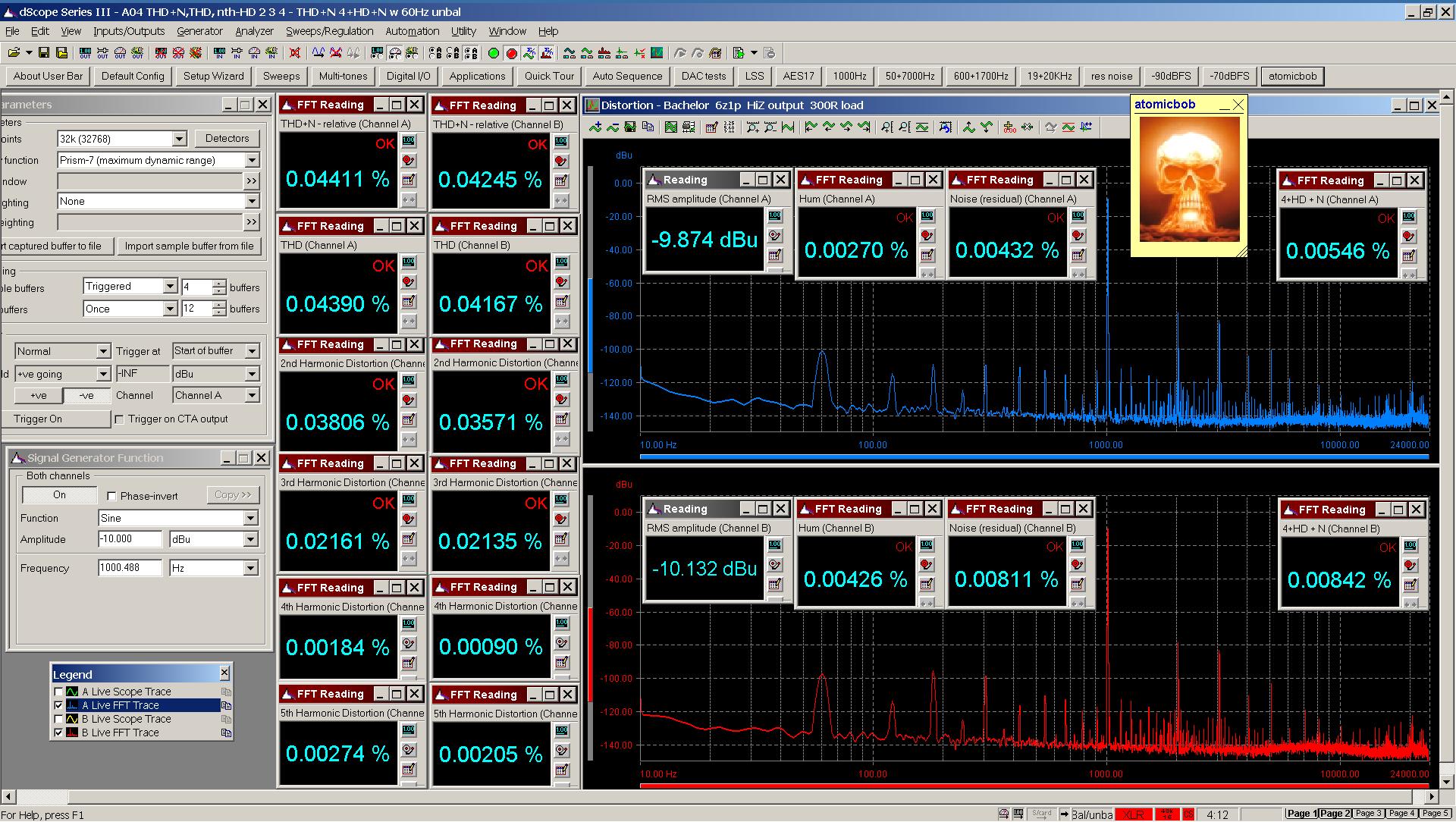 20200619 Bachelor 6z1p A04 THD+N  THD  nth-HD FFT 300R - 4+HD+N with 60Hz -10dBu.png