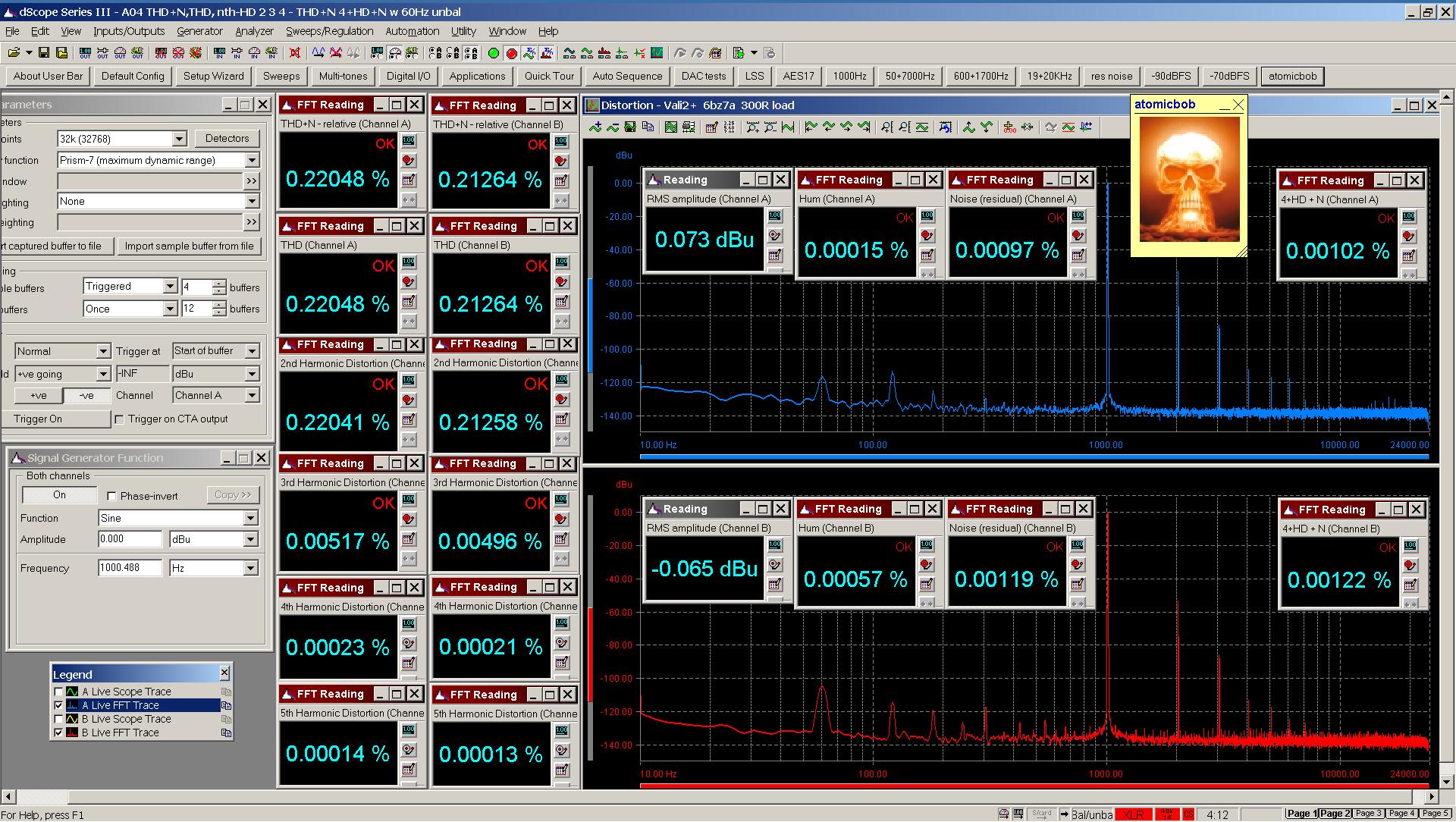 20201120 Vali2+ 6bz7a A04 THD+N  THD  nth-HD FFT 300R - 4+HD+N with 60Hz 0dBu.png