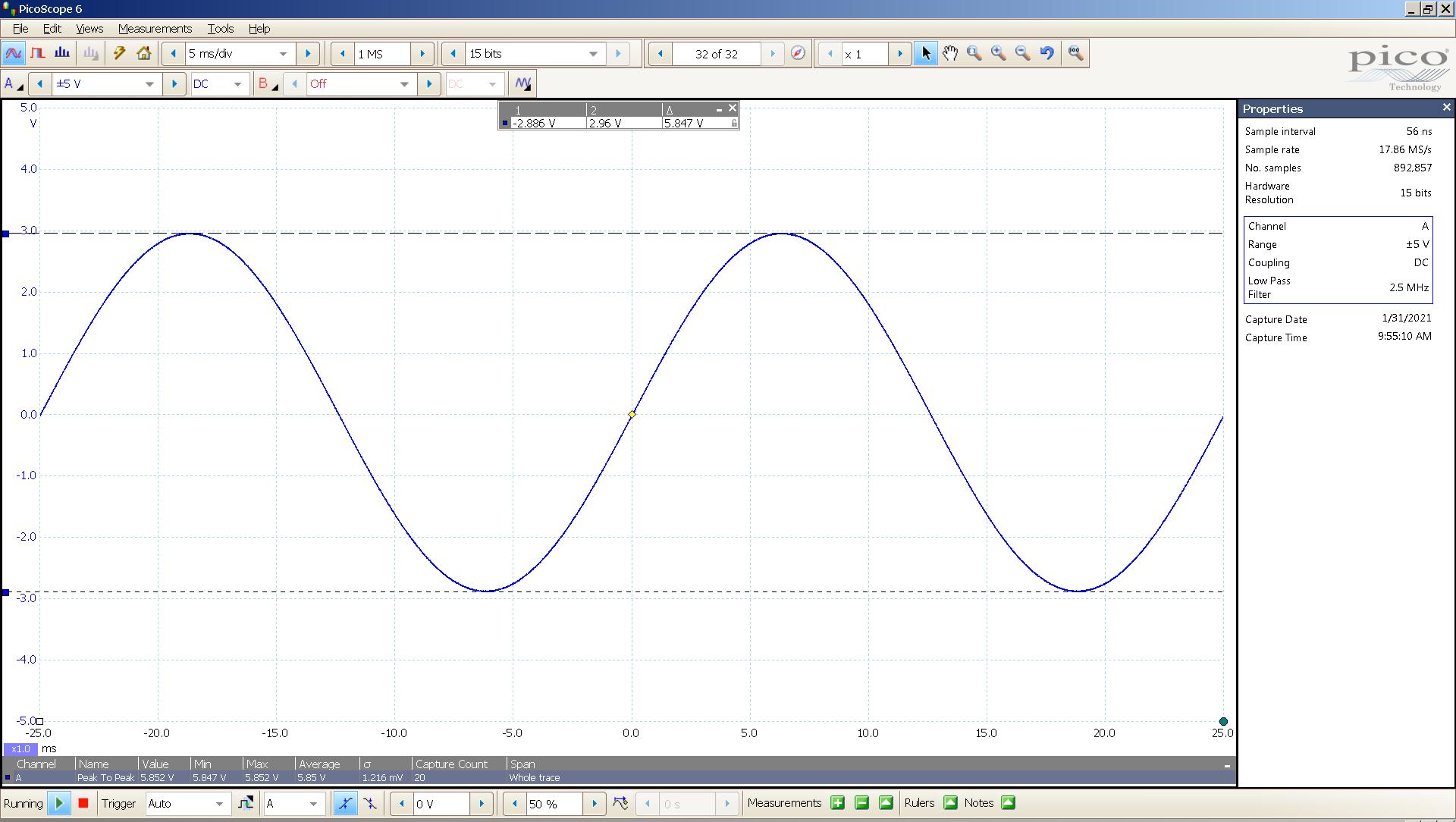 20210131-01 dac2541 40 Hz sine 5847mVpp 5mS div 5MHz filter AES SE Lin.png