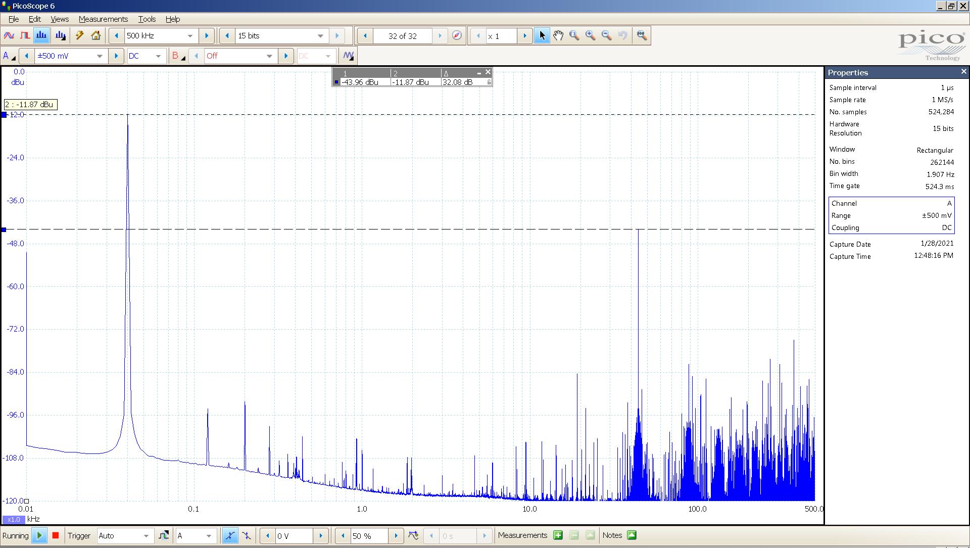21 20210128 dac2541 40 Hz sine FFT -20dBFS 44K USB SE Slow.png