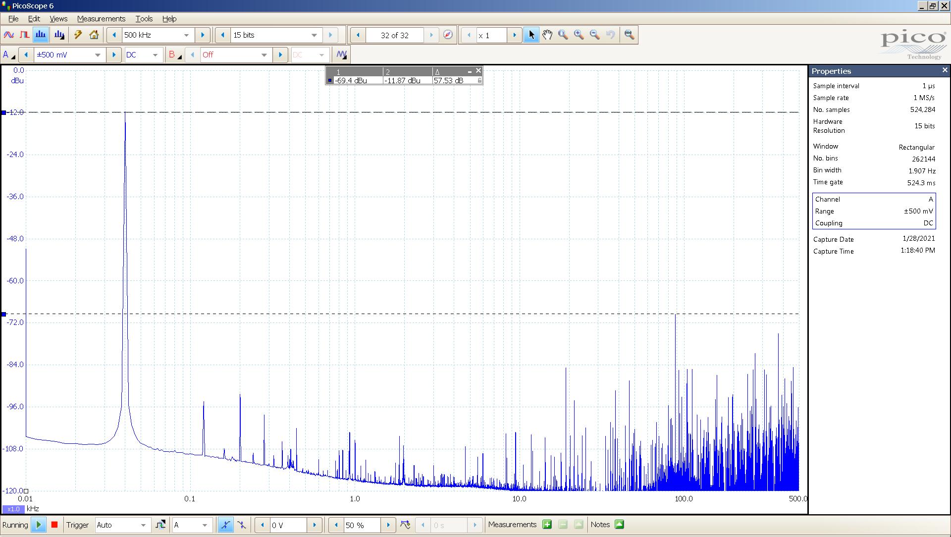 24 20210128 dac2541 40 Hz sine FFT -20dBFS 88K USB SE Slow.png