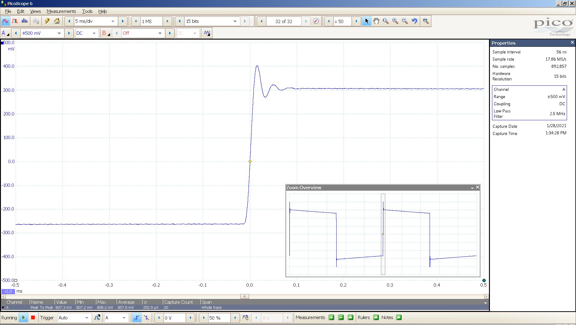 25 20210128 dac2541 40 Hz sqr 100us div  -20dBFS 88K USB SE Slow - no markers.png