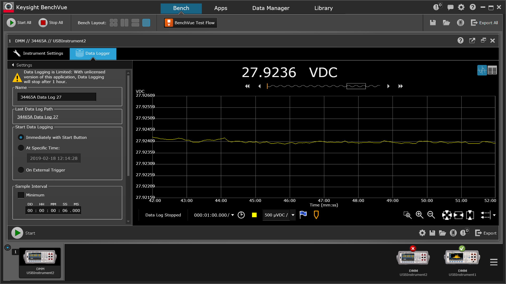 45 20190217 ZeroZone 28V 56R load t=42 to 52min drift - 34465A.png