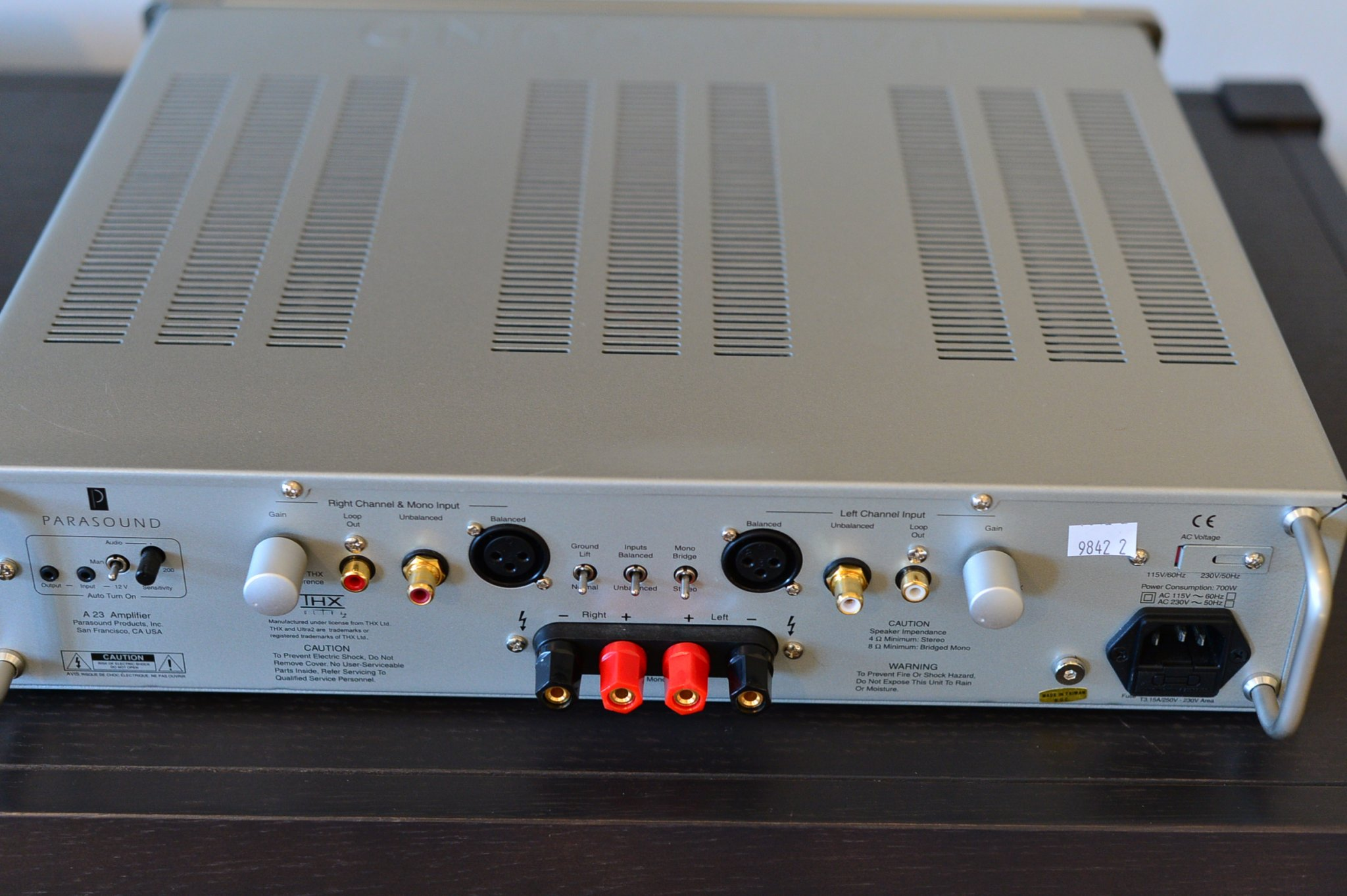 Parasound Halo A23 Stereo Amplifier Review Super Best Audio Friends Basics A Modern System Has Two Dsc 1724