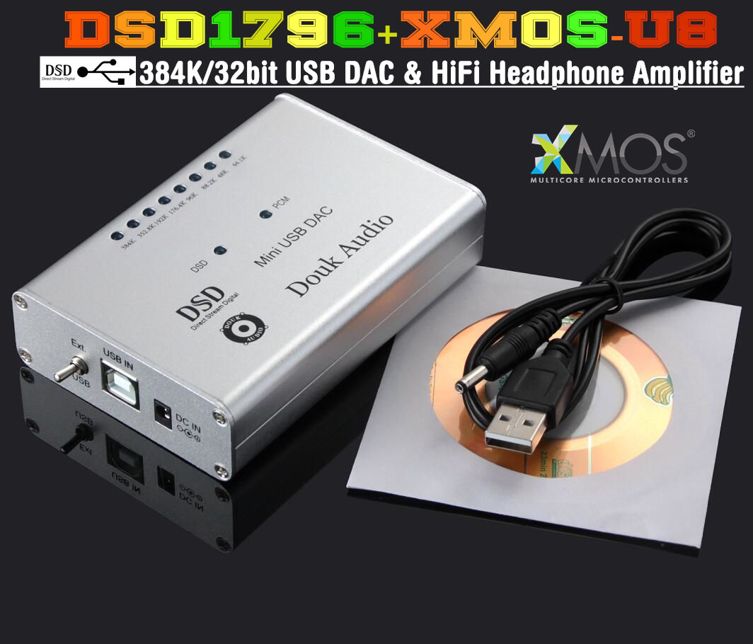 Douk Audio DSD AIO DAC/Headamp Quick Impressions and Measurements